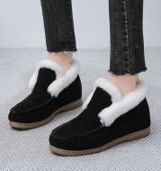 Round Toe Fashion Short Boots Women Foreign Trade New Warm Martin Boots