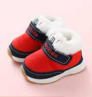 Plush Thick Cute Soft Sole Toddler Shoes