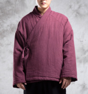 Men's Chinese Style Cotton-Padded Clothes