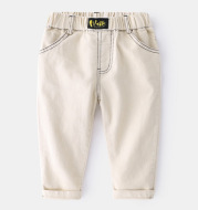 Korean Baby Solid Color All-Match Trousers