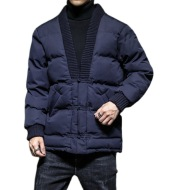 Chinese Style Men Retro Color Cotton Jacket
