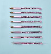 Oil-filled Pink Mink Hair Nail Pen Nail Art Pen
