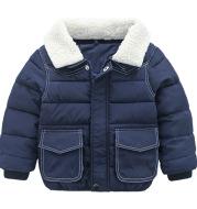 Simple Cotton Coat Baby Coat Baby Padded Coat