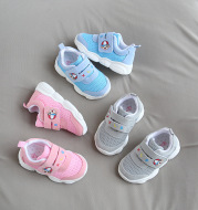 Breathable Mesh Baby Toddler Shoes Bear Soft Sole