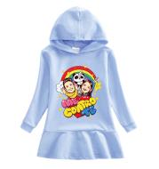 Fashion Girls Cartoon Cotton Casual Hooded Sweater