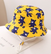 Children's Fisherman Hat Printed Basin Hat For Boys And Girls