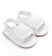 Summer Baby Girl Casual Fashion Pu Fringed Sandals 0-18M