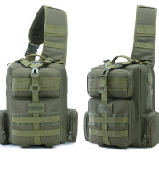 Tactical Army Fan Satchel Wild Fishing Cycling Sports Backpack