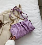 Net Celebrity Fold Small Bag Tide Texture Western Style Shoulder Bag