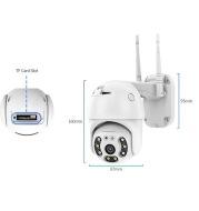Tuy2.5 Ball Machine Outdoor Waterproof Wifi Webcam