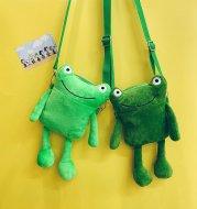Plush Cute Frog Small Bag Phone Single Shoulder Messenger
