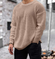 Sweater Men's Autumn And Winter New Fashion Knit Top Sweater