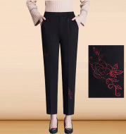 Middle-Aged And Elderly Women's Pants Autumn And Winter Clothes