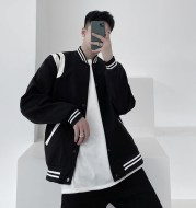 Single-Breasted Casual Sweater Woolen Coat