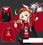 Anime Hoodie Sports Jacket Project Print Velvet Pants Top Adult Children