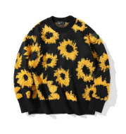 Street Sunflower Primer Sweater Casual Lazy Style