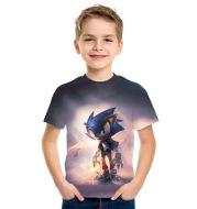 Sonic The Hedgehog Children's Short Sleeved T-Shirt