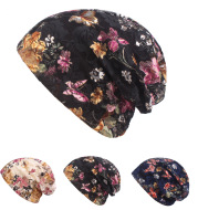 Ethnic Style Pullover Cap Ladies Flower Toe Cap Cap Spring And Summer Lace Hat