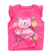 Summer New Children's Clothing Cotton T-shirt Round Neck