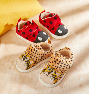 Home Shoes Cute Winter New Female Baby Indoor Shoes Plus Velvet Girls Slippers