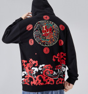 Hip-hop Loose Plus Size Pullover Hoodie Sweater