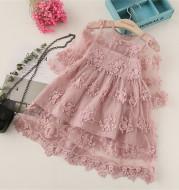 Children's Dress Embroidered Mesh Tulle Tutu Dress Skirt