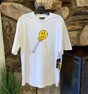 Men's Shirt Youth Student Print Short Sleeve Bottoming Shirt New Men's Clothing