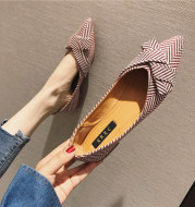 All-match Pointed Shallow Mouth Single Shoes Women Shoes