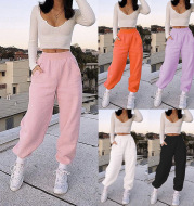Women's Casual Sports All-Match Sweater Pants