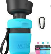 Pet Outdoor Foldable Bottle Dog Travel Water Bottle Dog Water Dispenser