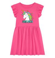 Summer New Style Children's Dress Cotton Short-Sleeved Children's Dress