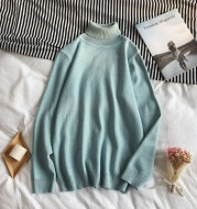Casual All-Match Long-Sleeved Sweater Round Neck Bottoming Shirt