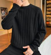 Round Neck Sweater Trendy Personality Thickening Sweater