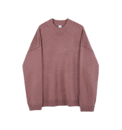Loose Knit Sweater Thickened Bottoming Sweater