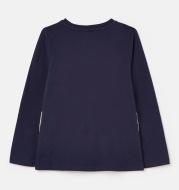 Knitted Long Sleeve Children's T-shirt Round Neck Cartoon T-shirt