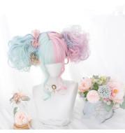 Harajuku Soft Girl Lolita Macaron Lolita Long Curly Hair