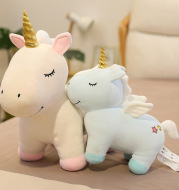 Unicorn Doll Ragdoll Pink Children's Gift Doll Plush Toy