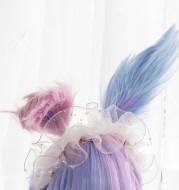 Harajuku Soft Girl Lolita Wig Candy Color Lolita Long Curly Hair
