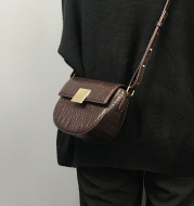 Messenger Bag All-match One-shoulder Small Square Bag