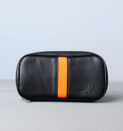 Fashion Leather Pipe Bag Accessories Yellow Strip Bag