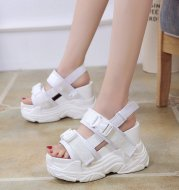 Super High Heel Wedge Platform Platform Sports Shoes