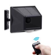 Solar Infrared Body Sensing Remote Control Alarm Lamp