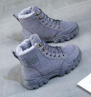 Winter Velvet High-Top Shoes Martin Boots