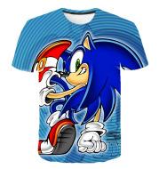 The Latest Sonic The Hedgehog T Shirt Boy Children's