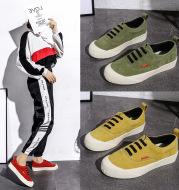 Leather Shoe Non-Slip Small White Shoe Lady