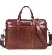 Leather Men's Handbag Multifunctional Briefcase
