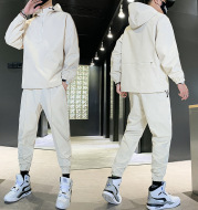 Men's Hooded Pullover Jacket Trousers