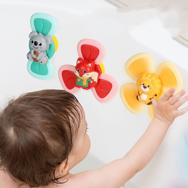 Spinning Animal Toys (0-3 Years)