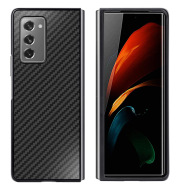 5G Folding Screen Mobile Phone F9160 Anti-Drop Carbon Fiber Pattern Mobile Phone Case