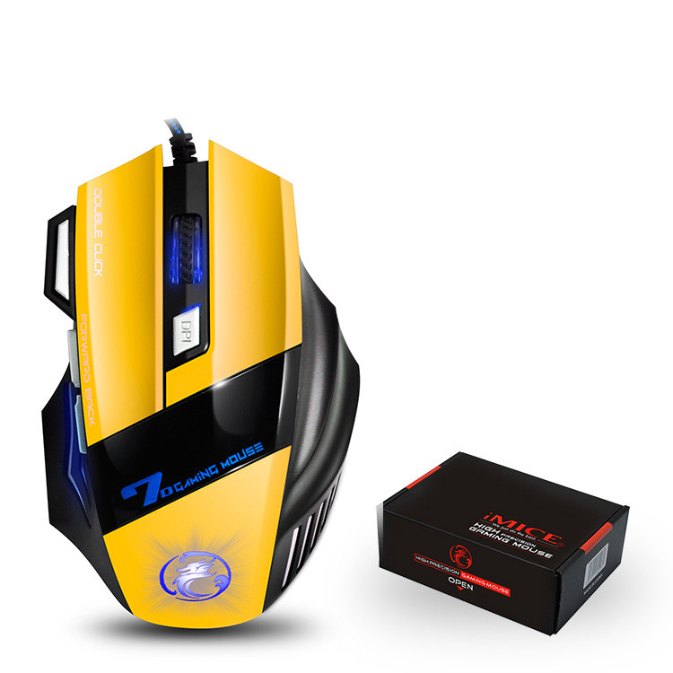 X7 Wired Gaming 7 Buttons Optical 4800 DPI Mouse